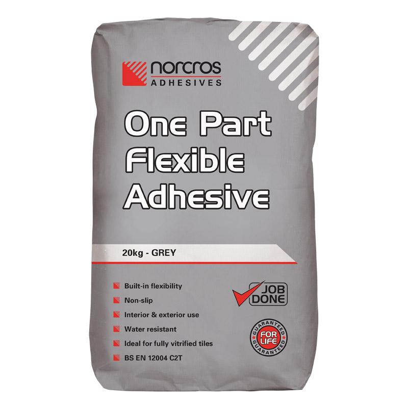 Norcros One Part Flexible Adhesive Grey