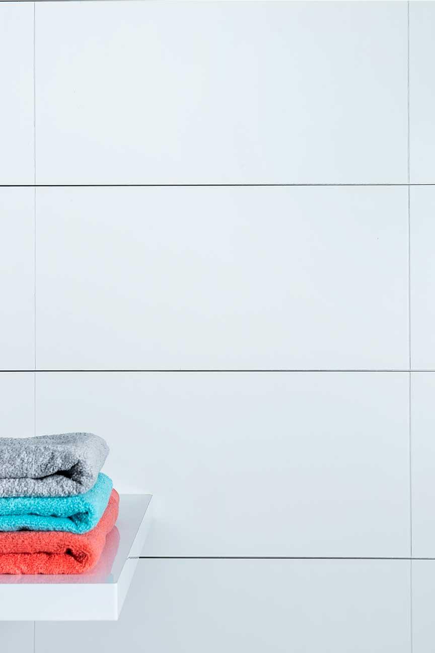 Tokyo White Matt Ceramic Wall Tiles Spacers Online