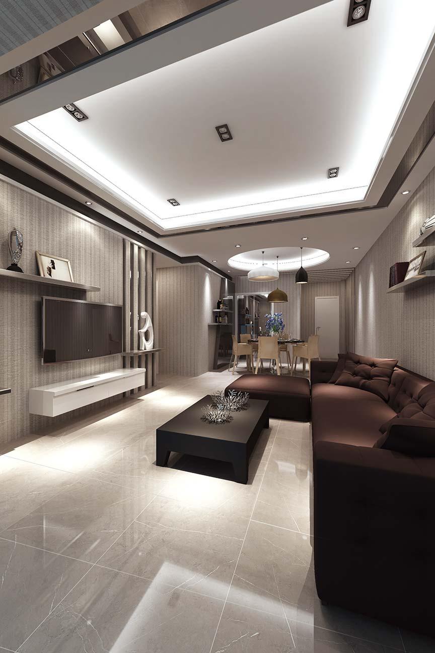Napoli Pietra Grey Gloss 60 x 60